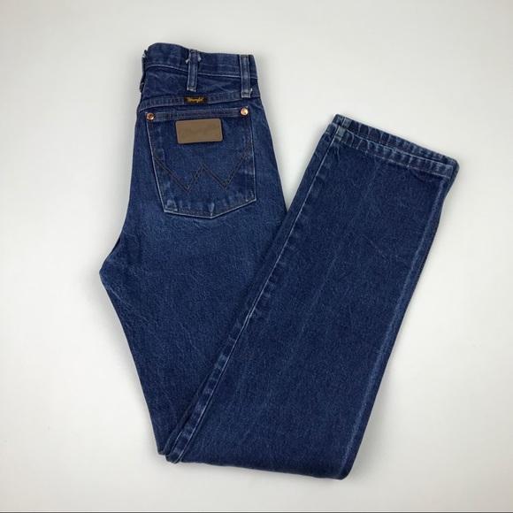 Wrangler Denim - Vintage Wrangler Boyfriend High Waist Wedgie Jeans